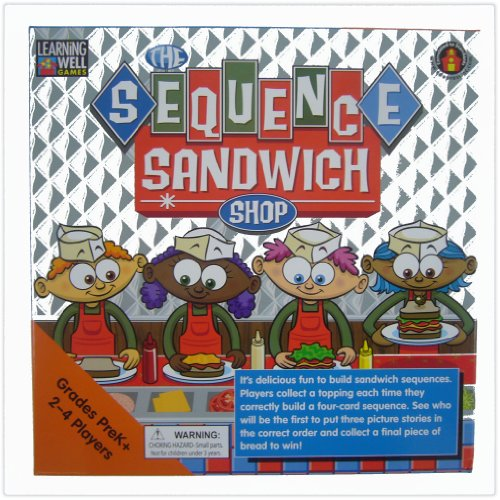 The Sequence Sandwich Shop Learning Well Games