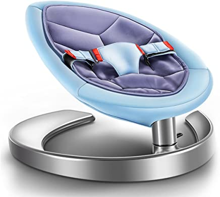 oofay Infant Seat -Toddler Rocker Baby Bouncer  Price Baby Bouncer  Geo Multicolor Plush Rocking Toy Girl Blue