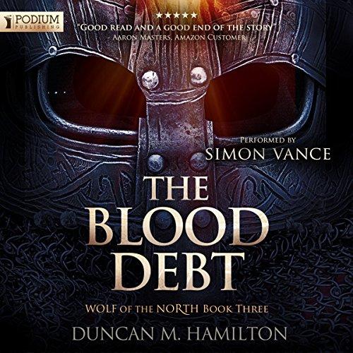 The Blood Debt audiobook cover art