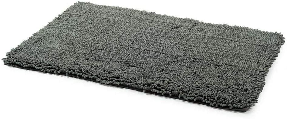 Ancol Simply Dry Noodle Dog Mat Complete Free Shipping Gray One Rare Size
