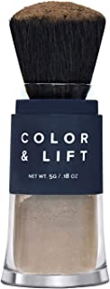 Color & Lift with Thickening Powder - Available in 8 Hair Colors - Root Cover Up - Temporary Hair Coloring Brush that Refreshes Hair - Dark Brown