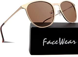 Classic Round Retro Sunglasses UV400 Circle Lens Metal...