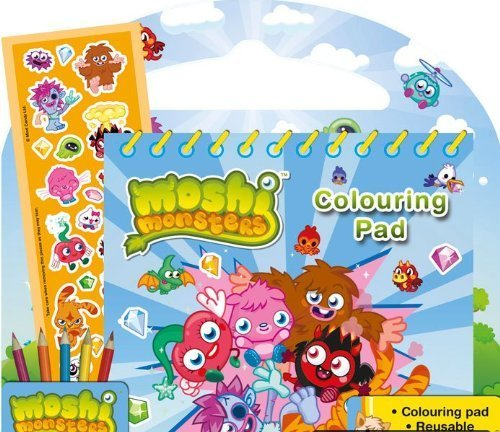 Alligator Books Moshi Monsters Actividad Fun Pack