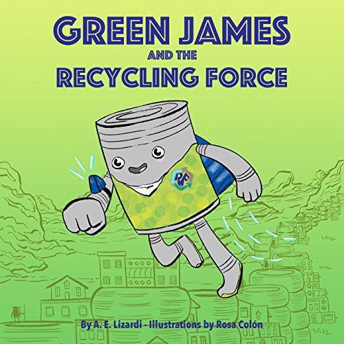 Green James and the Recycling Force audiobook cover art