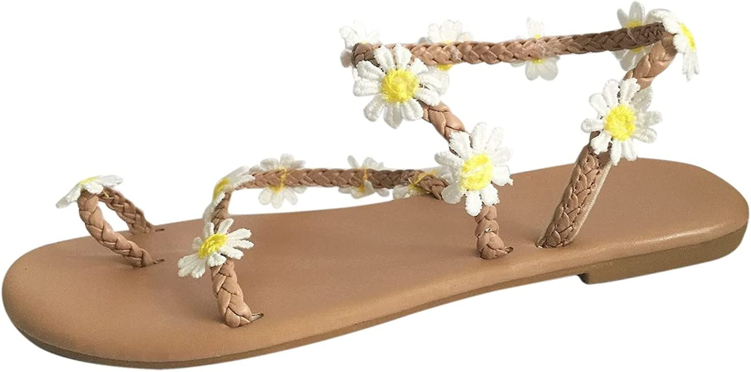 depot Fullwei Max 86% OFF Sandals for Women Casual Summer Comfy Dressy 2021