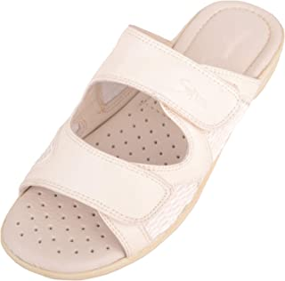 ABSOLUTE FOOTWEAR Womens Slip On Casual Summer/Holiday Mules/Sandals/Shoes