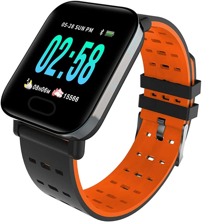 Hokaime Smart Wrist d Heart Rate Fitness Tracker Intelligentes Sportarm d für Outdoor-Sportarten und sitzende Büroerinnerungen