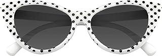 Emblem Eyewear - Lunettes De Soleil Polka Dot Cat Eye Womens Fashion Mod Super Cat