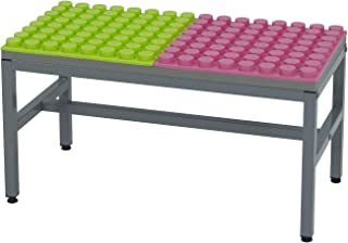 UNiPLAY Antibacterial Soft Building Blocks Table, Building Base and Play Station (Small)