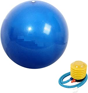 Mini Yoga Ball with Pump, Mini Exercise Ball for Stability, Barre, Pilates, Yoga, Core Training and Physical Therapy - 25 ...
