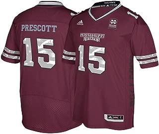 Mississippi Bulldogs Dak Prescott NCAA Veterans Day Premier Jersey