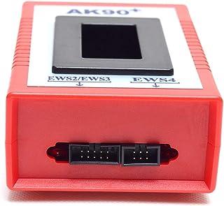1995-2009マッチツールOBD2 OBD 2スキャナ車修理からBMW EWS CAS用AK90 +オートキープログラマーバージョンV3.19診断(カラー:ブラック)
