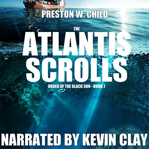 The Atlantis Scrolls audiobook cover art