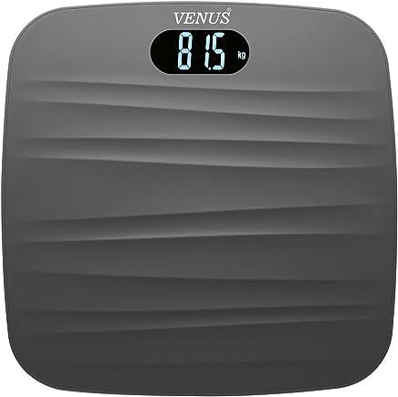 Venus EPS 9999 Ultra Lite Personal Electronic Digital LCD Weight Machine (Black)