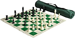 The House of Staunton US Chess Quiver Chess Set Combo - Green …