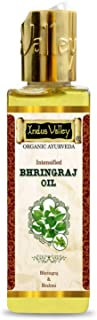Indus Valley Bhringraj Oil For Hair & Scalp Treatment (Enriched With Sesame, Wheatgerm, Almond, Coconut, Lavender) 100ml.