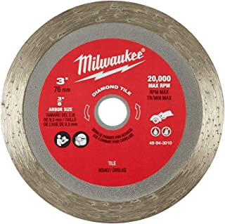 Milwaukee 49-94-3010 3 Inch Diamond Tile Blade