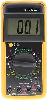 Digital DT-9205A Multímetro LCD Probador de capacitancia de resistencia de amperímetro AC / DC - Asiproper