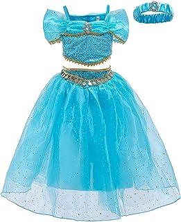 BCSHF Vestido de Princesa de Las niñas Infantil Cosplay Vestidos de Princesa Faldas de la fotografía los niños Vestidos pa...