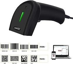 KKMO Automatic Sensor 1D/2D/QR/PDF417/Data Matrix Imaging USB Barcode Scanner CCD Bar Code Reader for Mobile Payment Computer Screen