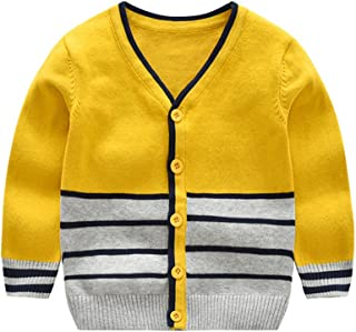 4a382876f Fairy Baby Toddler Baby Boys Cotton Sweater Cardigan Knitted Buttons Down  Coats Outwear