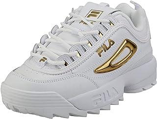 FILA Disruptor II Metallic Accent Women's Sneakers