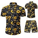 SSBZYES Camisas para Hombres Camisas De Manga Corta para Hombres Camisa De Manga Corta para Hombres Pantalones Cortos para Hombres Pantalones Cortos De Camuflaje De Cinco Puntos De Manga Corta