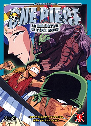One Piece Anime comics - La malédiction de l'épée sacrée - Tome 02