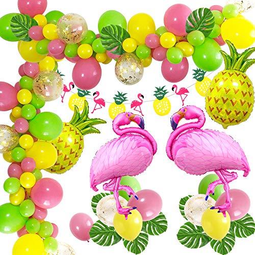 Es besteht aus einer Auswahl der Bestseller in Ananasdekoration.