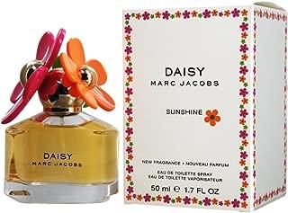 Marc Jacobs Eau de Toilette Spray, Daisy Sunshine, 1.7 Ounce