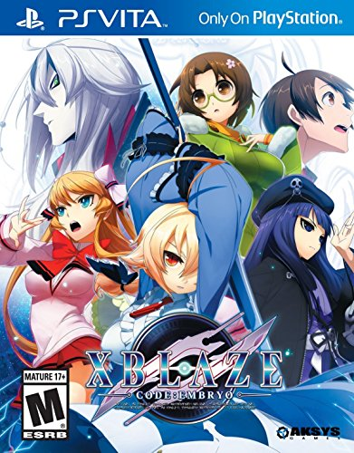 Xblaze Code:Embryo - PlayStation Vita by Aksys
