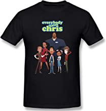 Fullcourttj Mens Everybody Hates Chris Leisure T-Shirts Black