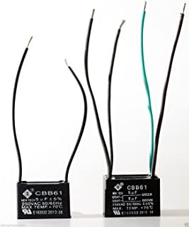 Casablanca Capacitor Set 6406204000 Hunter ceiling fan capacitor 5uf 5uf+5uf