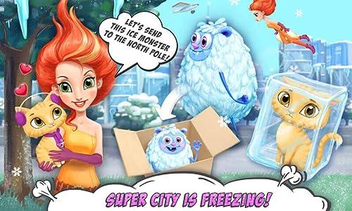 『Power Girls Super City – Superhero Salon, Miraculous Pets & Monster Rescue』の5枚目の画像