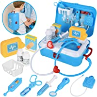 17-Piece Realistic Pretend Kid Doctor Play Set