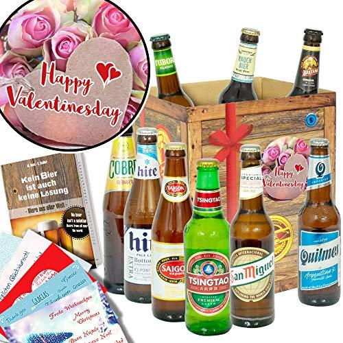 Happy Valentinesday/Freundin Geschenk/Bier aus aller Welt