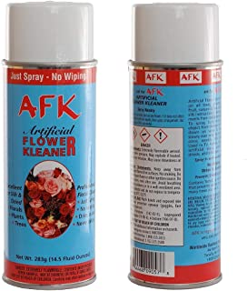 Silk Flowers and Plants Aerosol Cleaner Spray - Artificial Flower and Plant Treatment for Cleaning, Shining and a Finishing Touch, No Wiping Needed