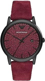 Emporio Armani Men's Three-Hand Date Black-Tone Stainless Steel Watch AR11273