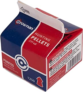 Crosman P1250 .177-Caliber Pointed Pellets (1250-Count)