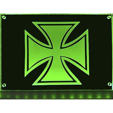 Led Schild Kompatibel Mit Iveco 30x15cm Led Beleuchtung Lasergraviert Edles Led Schild Als Truck Accessoire Beleuchtetes Schild Für Den 24volt Anschluss Ideales Lkw Zubehör Für Trucker Auto