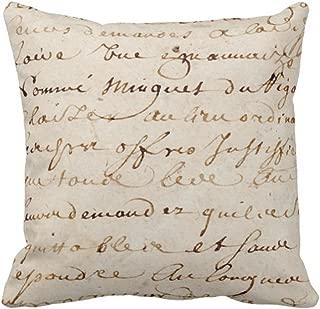 french script parchment paper