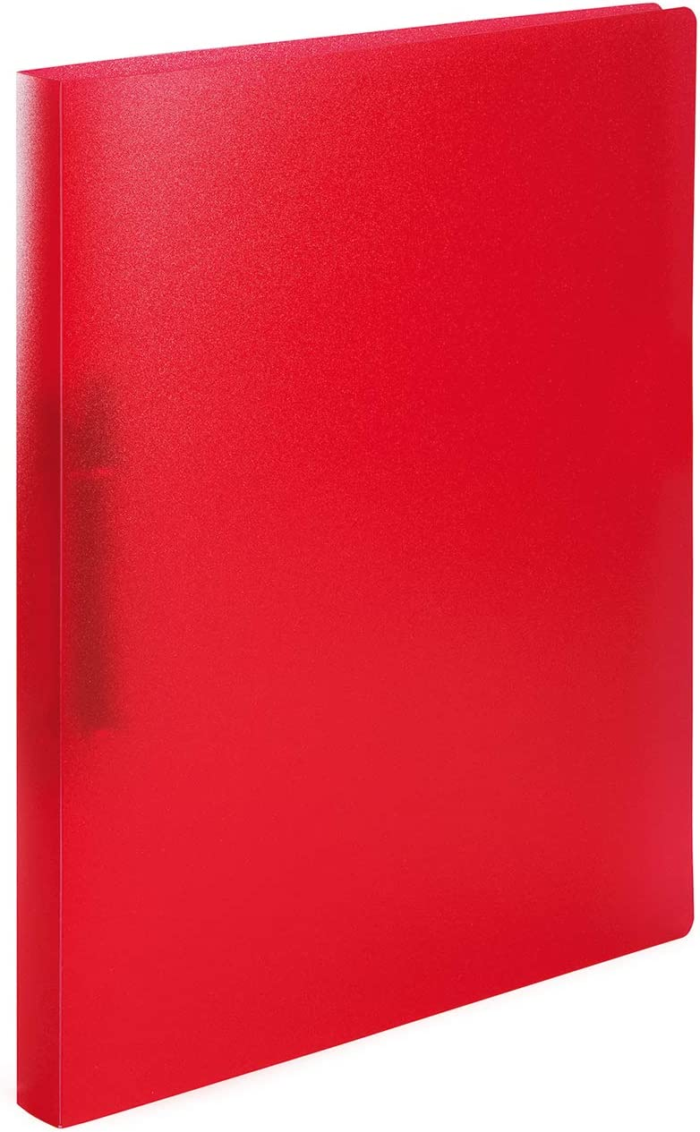 Excellence HERMA 19163 Ring Long-awaited Binder DIN A4 Translucent Red Set 3 2 of Narrow