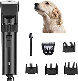 Large Dog Grooming Clippers,charging Pet Electric Clipper,large Pet Trimmer, Low Vibration and Low Noise 2.8m Power Cord S...