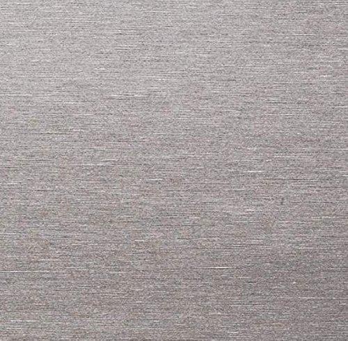 Klebefolie - Möbelfolie Edelstahl Optik - Stahl gebürstet - 67.5 cm x 150 cm