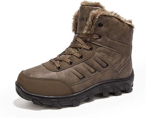 FHCGMX super super super warme Männer Winterstiefel für Herren Herren Stiefel warme Schneeschuhe  billiger Laden