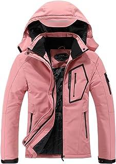 Women's Waterproof Ski Jacket Warm Winter Snow Coat...