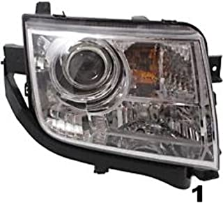 Aftermarket Fits 07-10 MKX Right Passenger Headlamp Assembly Halogen Type