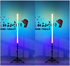2 Pack Remote Control and Rechargeable LED Video Tube Light, 1000mm and RGB for Mood Creation, Photography, Stage, Nursery...