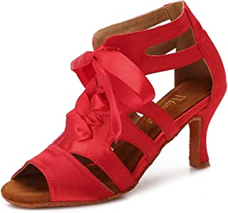 TTdancewear Women Ballroom Dance Shoes Latin Salsa Bachata Wedding Dance  Dancing Shoes 1758f54a3280