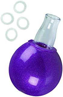 California Exotic Novelties Nipple Bulb with 4 Nipple Erection Rings